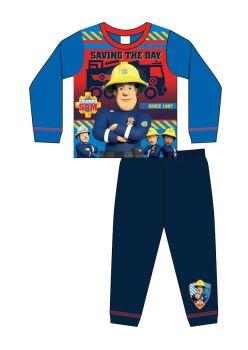 "Code:36124, Official ""Fireman Sam"" Boys Pyjama £3.75.   pk18..."