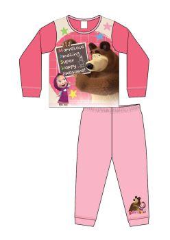 "Code:36131, Official ""Masha And The Bear"" Girls Pyjama £3.75.   pk18..."