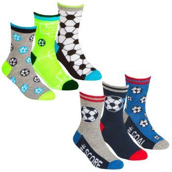 42B691, Boys 3 in a pack design socks £1.35.  24pks...