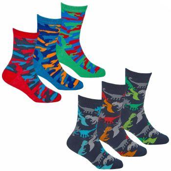 42B730, Boys 3 in a pack design socks £1.35.  24pks...