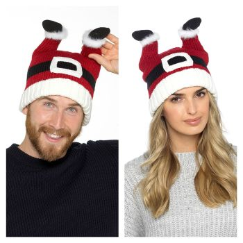 GL574, Adults Novelty Santa Hat £3.15.   pk36...
