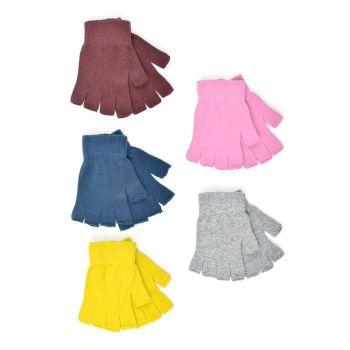 GL840, Ladies Fingerless Gloves £6.60 a dozen.   18 dozen....