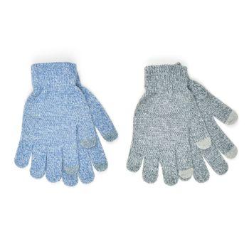 GL857, Ladies Marl Touchscreen Gripper Gloves £8.50 a dozen.   6 dozen....