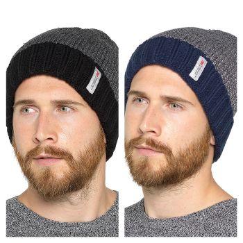 GL605, Mens Fleece Lined Thinsulate Hat £2.30.  pk48....