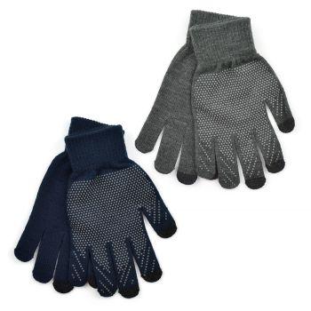 GL632A, Mens Marl Touchscreen Gripper Gloves £10.80 a dozen.   6 dozen.....