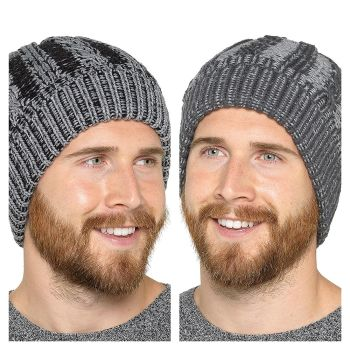 GL639, Mens Hat With Fleece Lining £2.50.   pk24...