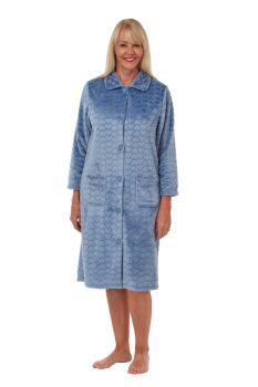 "MA29412, ""Marlon"" Ladies Button Thru Heart Housecoat £10.25.   pk2..."
