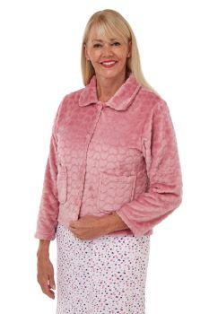 "MA29414, ""Marlon"" Ladies Heart Bed Jacket £8.25.   pk2..."