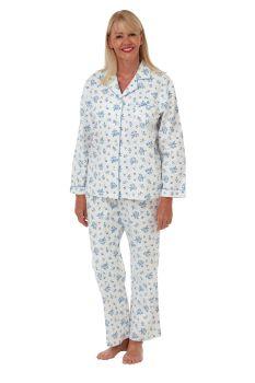 "MA29472, ""Marlon"" Ladies Floral Wincey Pyjama £9.25.   pk2..."