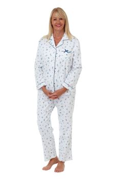 "MA29474, ""Marlon"" Ladies Floral Wincey Pyjama £9.25.   pk2..."