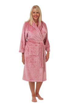 "MA29413, ""Marlon"" Ladies Shawl Collar Heart Robe £10.60.   pk2..."
