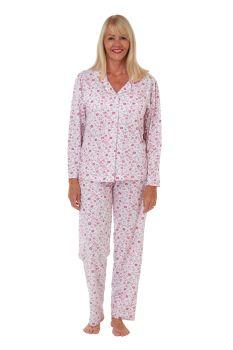 "MA29404, ""Marlon"" Ladies Floral Jersey Pyjama £10.95.   pk2..."