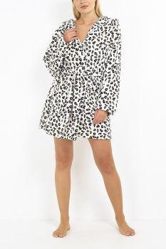 LDG-463SAFARI, Ladies Animal Print Robe £11.00.   pk12....