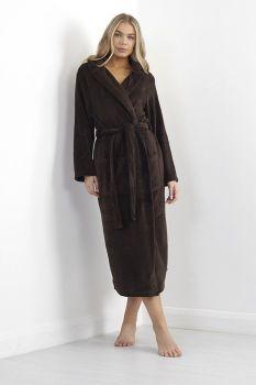 LDG-533OLIVIAD, Ladies Long Length Dressing Gown £11.00.   pk12....