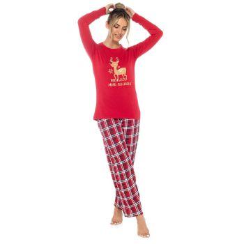 "*LN1441, Ladies ""Merry & Bright"" Jersey Pyjama Set £8.75.  pk24...."