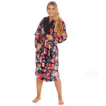 34B1714. Ladies Plush All Over Print Robe £12.25.   pk12...