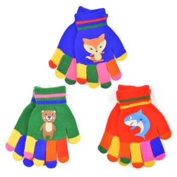 GL107A, Kids novelty magic gloves £0.75.  pk24..