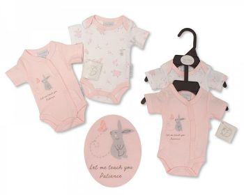 PB380P, Premature Baby Girls Bodysuit 2-Pack - Patience £4.00.  6PKS....