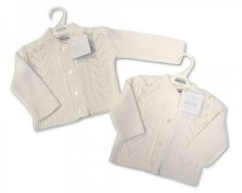 BW537, Knitted Baby Girls Cardigan £3.25.  PK12...