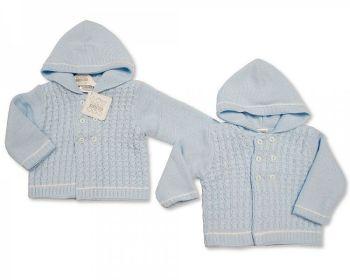 BW646, Knitted Baby Boys Pram Coat £10.60.   PK4...