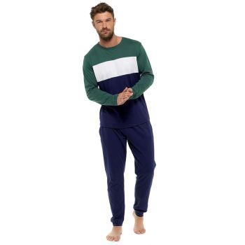 HT107, Mens Jersey Contrast Panel Pyjama £8.75.  pk36...
