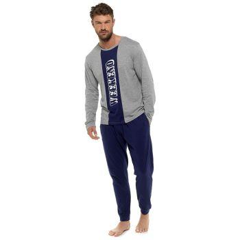 "HT108, Mens ""Weekend"" Contrast Panel Jersey Pyjama £8.75.  pk36..."
