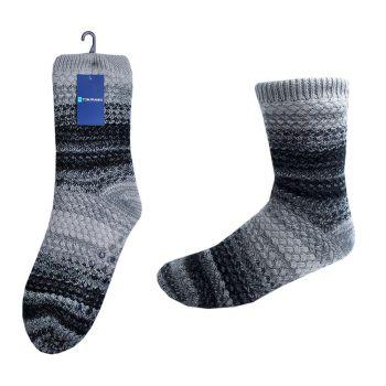 SK690, Mens Slipper Socks With Non Skid Grips £3.70.    pk36....