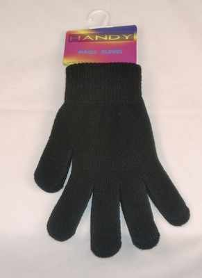 ALM10, Adults black magic gloves £0.38,  pk12..