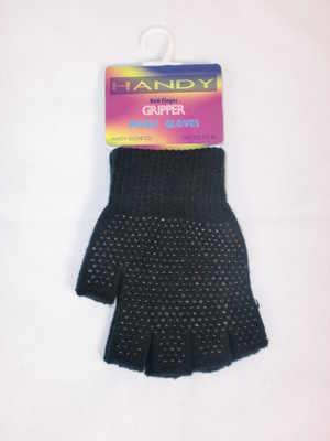 GLM109, Ladies gripper fingerless magic gloves, 1 dozen....