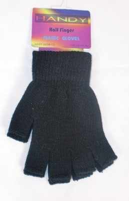GLM107, Ladies fingerless magic gloves £0.39.  pk12..