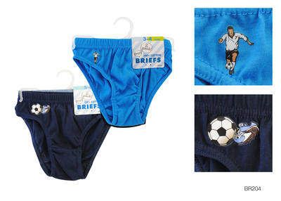 BR204, Boys 2 in a pack briefs £0.75.   12 packs.......