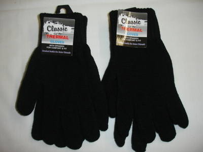 *RS112, Adults thermal gloves , 1 dozen.....