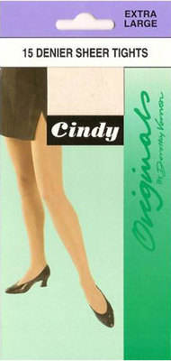 *Code:C10, Cindy 15 denier X-Large Tights, 1 dozen....