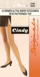Code:C3, Cindy 10 denier stockings, 1 dozen....
