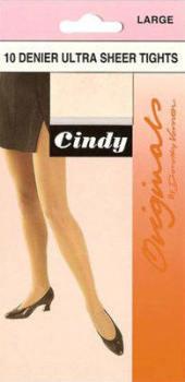 *CODE:C1, Cindy 10 denier large tights, 1 dozen....