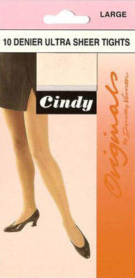 *CODE:C1, Cindy 10 denier large tights, 1 dozen....