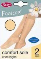 Code:D2, 2 pair pack comfort sole knee highs £1.68.  pk6...