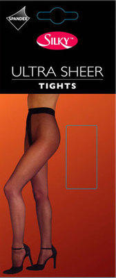 Code:S3, 10 Denier Ultra Sheer Tight £1.43.  pk6....
