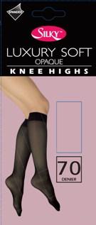 """Silky"" brand 70 denier soft opaque knee highs £0.83.  pk6..."
