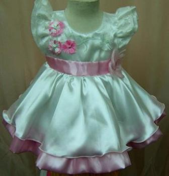 Code:4134S, Baby girls stunning party dress £7.25.  pk12.....