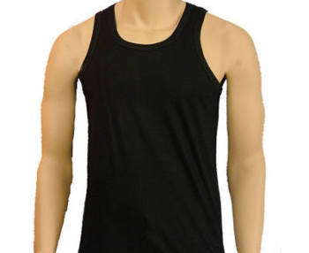 "MV2, ""Five Star"" brand mens Interlock Coloured Vests, 1 dozen......"