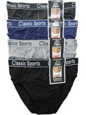 RH2, Mens 3 in a pack briefs (OUT OF STOCK) £1.70.  1 dozen...