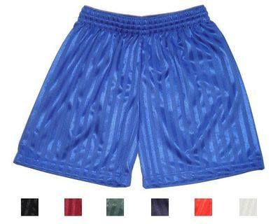 Kids shadow stripe football short £1.15.  pk12....