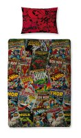 "Official ""Marvel Comics""""Heroes"" single duvet cover set £8.95. pk3..."