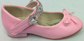 """HS008P, """"Gorgeous Collection"""" girls beautiful party shoes in white £7.95.  pk15....."""