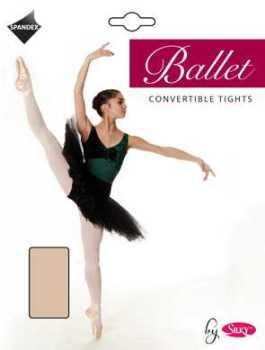 """Silky"" brand girls ballet convertible tights £2.40.   pk6..."