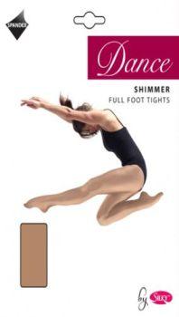 """""""Silky"""" brand girls dance shimmer full foot tights £2.40.   pk6..."""