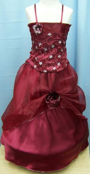 Code:P04BUR, A beautiful 3 piece burgundy sleeveless dress £15.00.  pk3....