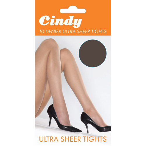 Cindy 10 denier Ultra Sheer Large Tights, 1 dozen....