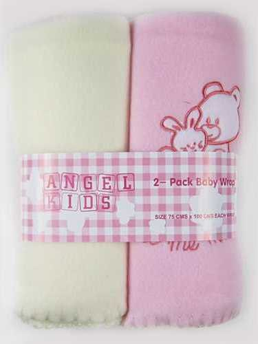 Code:6500,  2 in a pack baby girls wrap £3.55.  3pks......